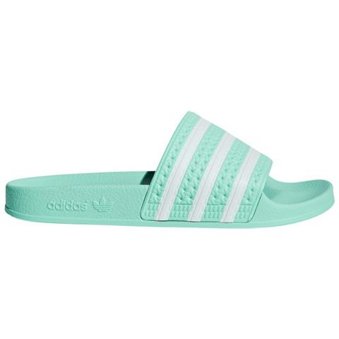 89c7a9acbe26 adidas - Ciabatte Donna Adilette Taglia 36 2/3 - Colore: Verde / bianco -  ePRICE