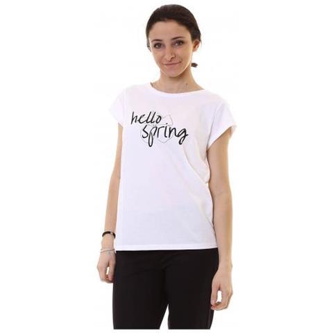 sale retailer 3a4b1 94133 Emme marella Humour T-shirt Manica Corta Donna Taglia M