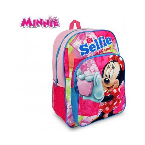 3e8e9c372b Minnie - Mi16102 Zaino A Spalla Adattabile Per Trolley Scuola Minnie Mouse  42x31x12 Cm - ePRICE