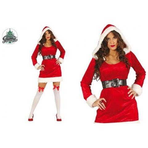 Costume Babbo Natale.Guirca Costume Babbo Natale Natalina Donna Eprice