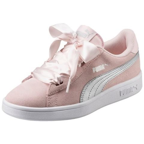 Puma 02 Scarpa Eprice Bambina Ribbon Smash Jr 4j Junior V2 Uk xIFnIr