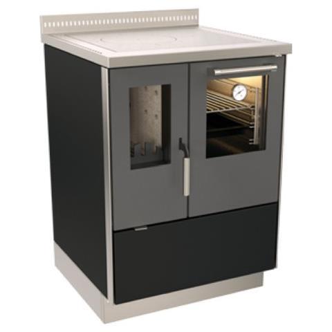 RIZZOLI - Cucina a Legna ZV60 SX potenza Termica Nominale 7.5 kW ...