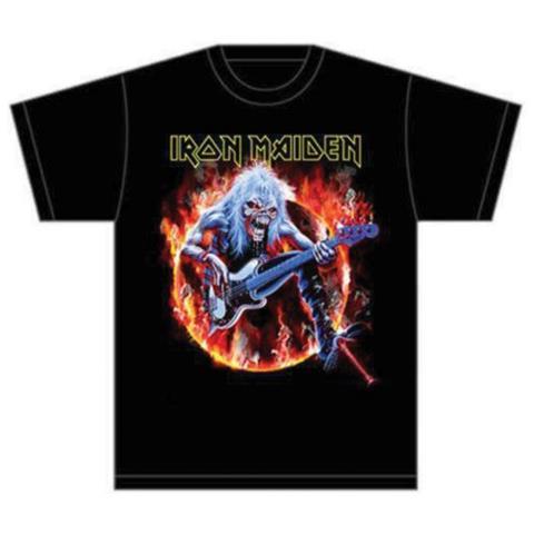 Iron Maiden - Fear Live Flames (T-Shirt Unisex Tg. M)