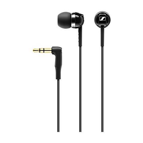 CX 100 Microcuffia, Tipo Ear Canal, Design Compatto, Nero