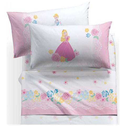 Caleffi Completo Lenzuola Letto Singolo 1 Piazza Princess Romantic Disney Eprice