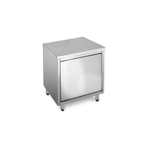 RISTOINOX - Tavolo 60x60x85 Acciaio Inox 430 Armadiato Cucina ...