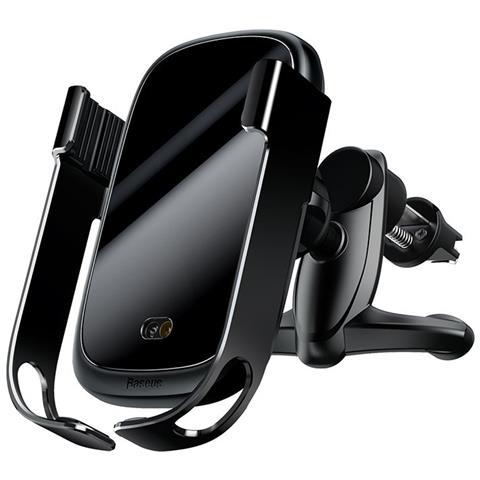 Baseus Supporto per caricabatteria per Auto Wireless Supporto per Telefono Auto da 10 W con Presa dAria Automatica a bloccaggio rapido Qi