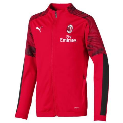 Puma Ac Milan Jr Poly Jacket 01 Giacca Della Tuta 20192020 Junior Cm 164