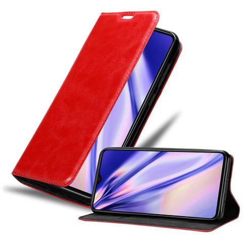 Custodia per Xiaomi Redmi Note 8T cover Libro Portafoglio chiusura magnetica