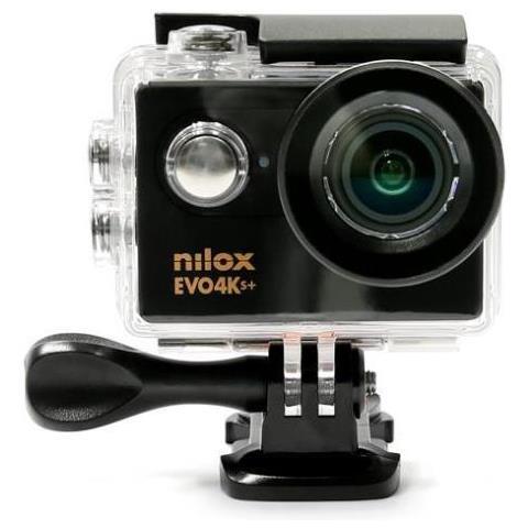 Action Cam Evo 4K S+ Sensore CMOS 16Mpx Wi-Fi Impermeabile Italia