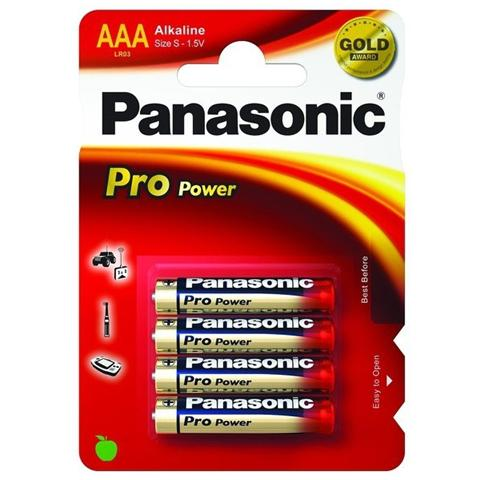 Confezione da 20 Batterie Alcaline AAA LR03 Durata Extra GP Batteries Pile Ministilo AAA