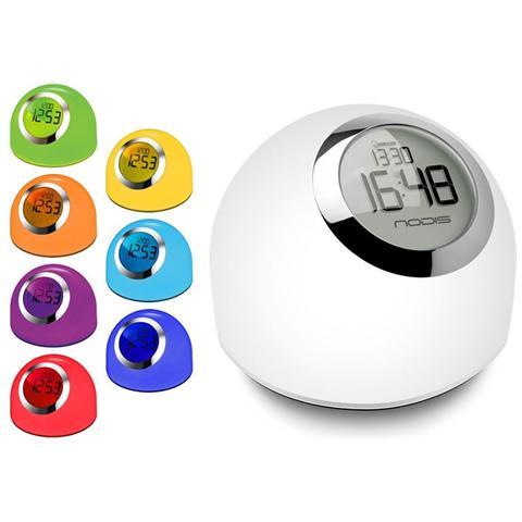 Nodis Revival Lampada Da Tavolo Con Funzione Orologio Sveglia Con Luce 7 Multicolor Eprice