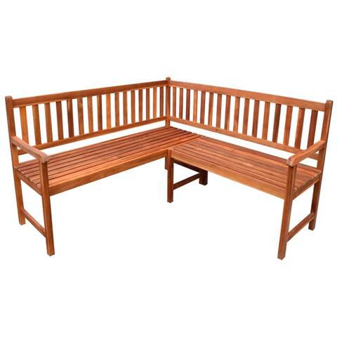 Panchina In Legno Da Giardino.Vidaxl Panchina Da Giardino Ad Angolo In Legno Di Acacia Eprice