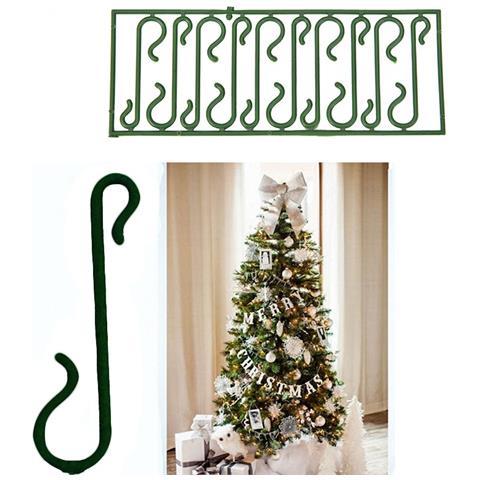 Immagini Palline Natalizie.Takestop 200 Ganci Verdi Per Appendere Palline E Decorazioni Natalizie Albero Di Natale Gancetti Eprice
