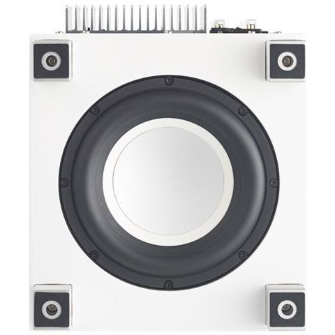 Subwoofer Amplificato Serie T Series mod. T-5i Potenza 200 Watt Colore Bianco