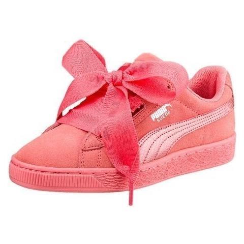 Puma Scarpe Suede Heart Snk Jr 36491805 Taglia 37,5 Colore Rosa