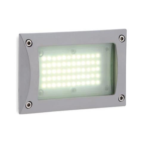 Elegante lampada da parete antracite incl più luminoso 12w LED Alluminio Lampada Parete Vetro Esterno Nuovo