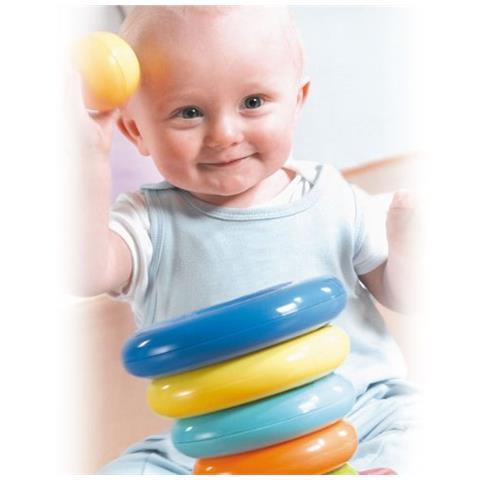 Set Anelli in Plastica per bambini Tony Prima Torre dei Sorrisi Giordani