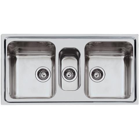 foster - Lavello Ad Incasso A Bordo Standard A Tre Vasche Ks 2173 ...