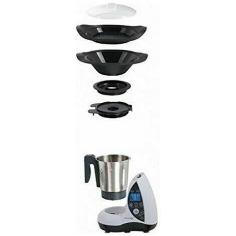 Arcamania Nuovo Robot Da Cucina Multifunzione Workwear Ottingher Con  Schermo Digitale 220-240v