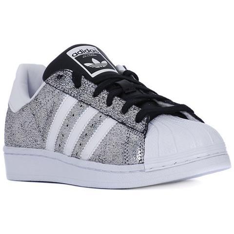scarpe superstar adidas argento