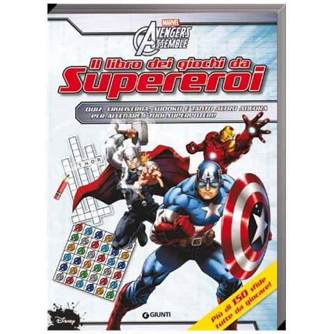 cheaper 9e692 4efa6 Marvel Avengers Assemble - Il Libro Dei Giochi