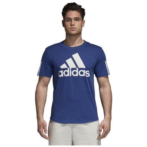 adidas uomo t shirt manica corta  adidas - Sport Id Logo Tee T-shirt Manica Corta Uomo Taglia L - ePRICE