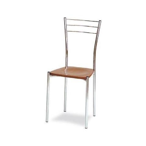 Sedia Moderna Cucina.Estea Mobili Sedia Moderna Seduta Legno Metallo Cucina Sala Super Prezzo