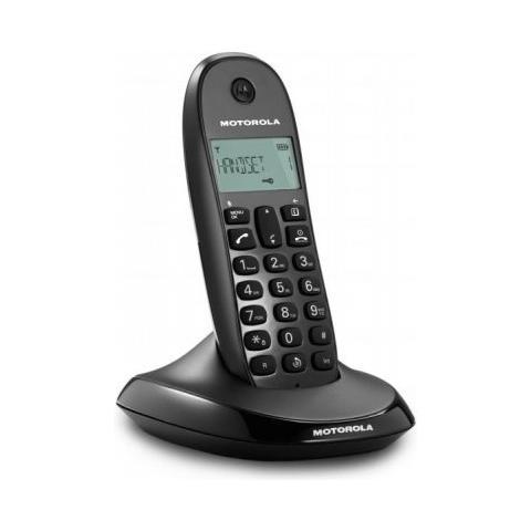 C1001L Telefono Cordless Colore Nero