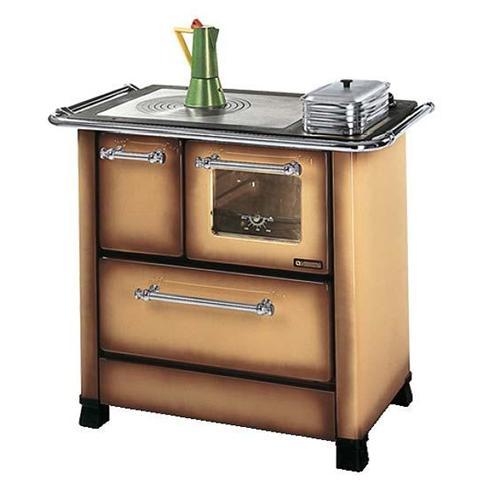 Cucina A Legna Nordica Prezzi.La Nordica Cucina A Legna Romantica 3 5 Sx Acciaio Porcellanato