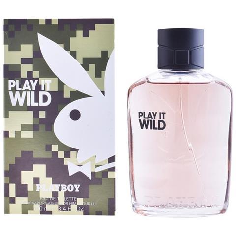 PLAYBOY Profumo Uomo Play It Wild Men Playboy Edt (100 Ml)