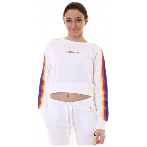 premium selection 352dd 11e98 CHAMPION Crewneck Sweatshirt Felpa Donna Taglia M