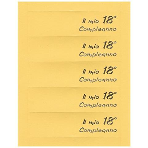 Rc2 Corporation 35 Bigliettini Per Diciottesimo Ragazza Ragazzo