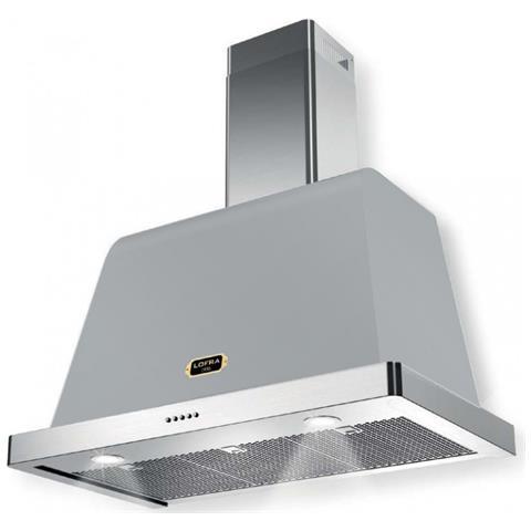 LOFRA - Dolce Vita Inox Satinato Cappa Da Cucina 120 Cm - Motore ...