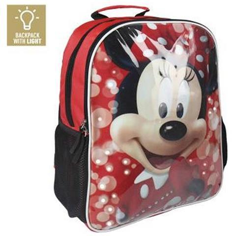 32dd95f3867876 minnie mouse - Zaino Scuola Con Led Minnie Mouse 907 - ePRICE