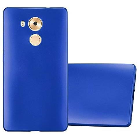 Cadorabo Custodia Per Huawei Mate 8 In Azzurro Metallico - Morbida Cover Protettiva Sottile Di Silicone Tpu Con Bordo Protezione - Ultra Slim Case ...
