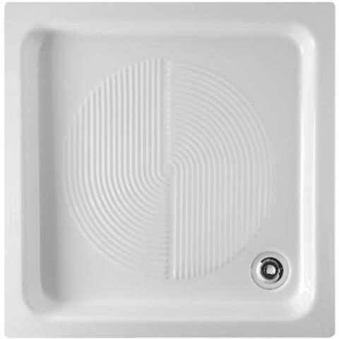 Globo Ceramica Piatti Doccia.Ceramica Globo Piatto Doccia Cm 65x65x8 In Ceramica Installazione Da Appoggio Predisposto Per Piletta Di Scarico Sifonata E Ispezionabile 60 Peso