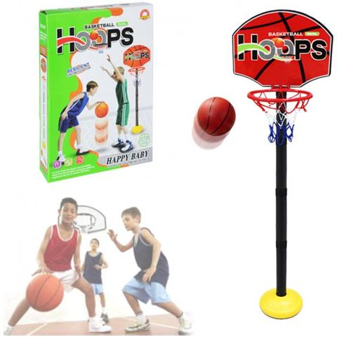 37ee89101bf5 MWS - 401269 Playset Basket Per Bambini Canestro Regolabile In Altezza Con  Palla - ePRICE