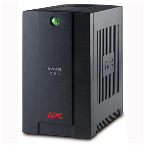 APC APC Back-UPS gruppo di continuità (UPS) A linea interattiva 700 VA 390 W