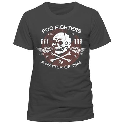 Foo Fighters - Matter Of Time (T-Shirt Unisex Tg. L)