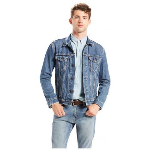 brand new 77206 a7886 Levi's The Trucker Jacket The Shelf Giacca Di Jeans Taglia S