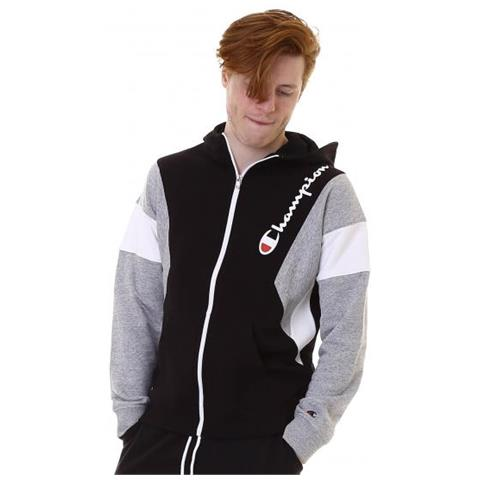 the best attitude b03c1 bff4b CHAMPION Hooded Full Zip Sweatshirt Felpa Con Cappuccio Uomo Taglia Xl