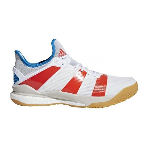 adidas Stabil X Red / bright Blue Scarpe Da Pallamano Per Giocatori Ai Massimi Livelli. Uk 10,5