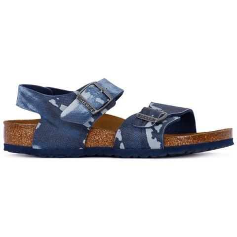 brand new 9bbf1 e3ddd Birkenstock Scarpe Rio Camo Blu 1004917 Taglia 34 Colore Azzuro
