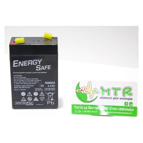 Batteria al piombo ENERGY SAFE 12V 100 Ah