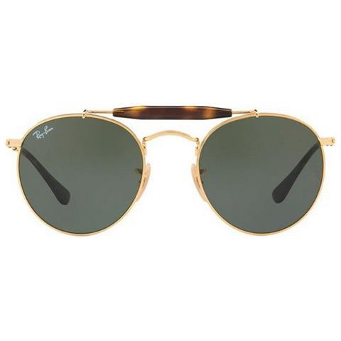 RAY-BAN Rb3747 001 - Misura 50-21 - Montatura In Metallo Color Oro Con  Lenti Verde Classico G-15 eae475aad0
