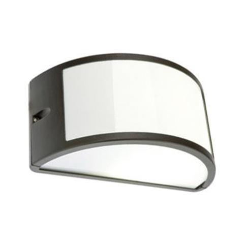 Lampade Per Esterno A Parete.Homegarden Applique Mezzaluna Moderna Lampada Da Parete