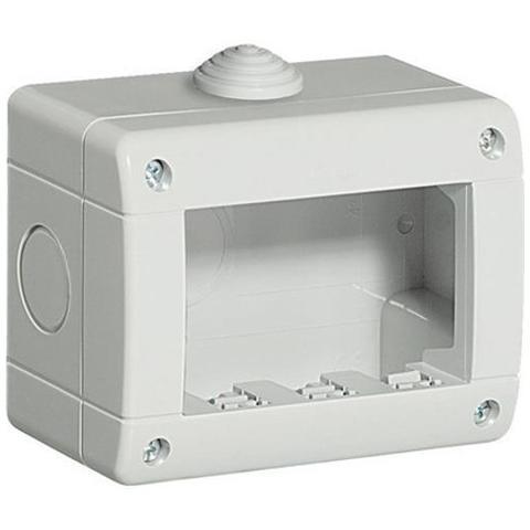 IDROBOX LUNA CUSTODIA IP40 3 POSTI BTICINO 24403
