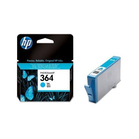 CB318EE Cartuccia Ink Originale 364 Ciano per HP HP Deskjet 35XX B211 C311 Capacit? 300 Pagine