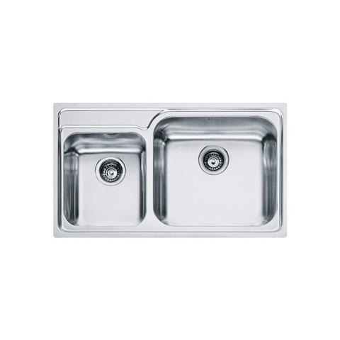 FRANKE - Lavello GAX620 2 Vasche Dimensioni 86 x 50 cm Colore Inox ...